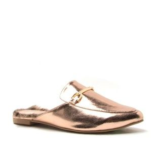 Shoes - Rose Gold Slide